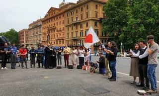 Gay Pride Roma, rosario di riparazione contro la manifestazione per i diritti degli omosessuali