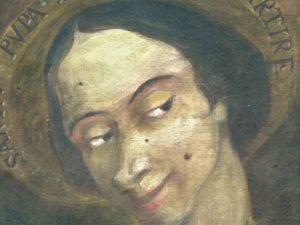 Effige di santa Pupa: la santa che non esiste, ma che è sempre presente nel dialetto romano.