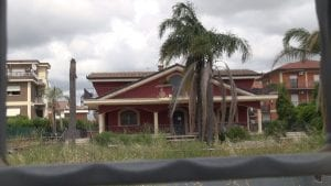villa confiscata a Guido Casamonica