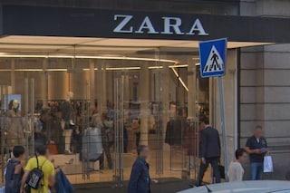Scatta l'allarme antincendio dentro Zara a via del Corso: evacuato il negozio