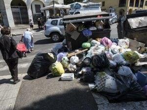 Roma, rifiuti