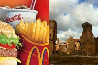 La Soprintendenza sbugiarda il Comune: non ha fatto niente per stoppare il McDonald's a Caracalla