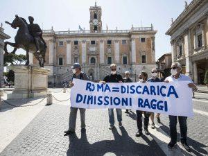 Crisi rifiuti a Roma