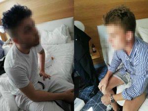 I due sospettati per l'uccisione del vicebrigadiere Mario Rega