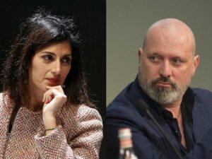 Virginia Raggi e Stefano Bonaccini