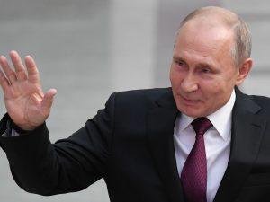 Vladimir Putin a Roma