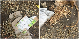 Orrore a Montesacro: gettati in terra tra i rifiuti centinaia di denti