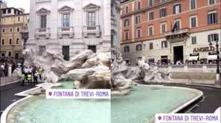 Fontana di Trevi: troppi visitatori e i vigili la rendono off limits