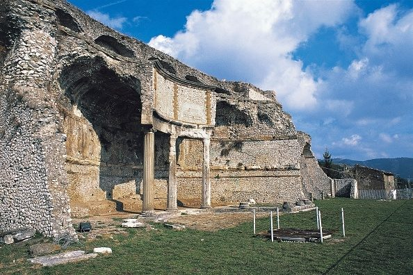 Santuario di Fortuna Primigenia a Palestrina.