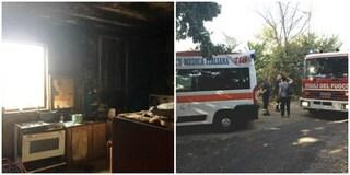 Albano, scoppia incendio in casolare rifugio dei senza tetto: 55enne è gravissimo