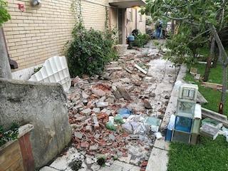 Tromba d'aria a Fiumicino, il sindaco Montino chiede lo stato di calamità per i danni del maltempo