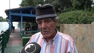 """Neonata morta nel Tevere, il pescatore che l'ha vista: """"L'ho portata a riva piangendo, sto male"""""""