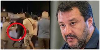 Salvini parla di tutto tranne che del poliziotto che ha estratto la pistola a Civitavecchia