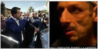 Uno degli aggressori razzisti di San Lorenzo accoglieva Salvini dopo la morte di Desirée