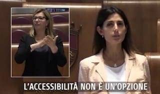 Sedute Aula in streaming nella Lingua dei Segni per non udenti: Roma è la prima Capitale al Mondo