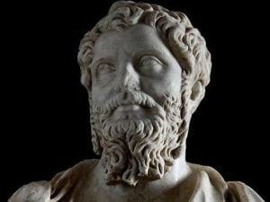 Il busto di Settimio Severo