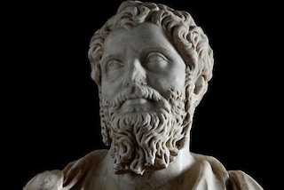 Esposto al Colosseo uno straordinario busto di Settimio Severo, rubato e ritrovato dentro un suv