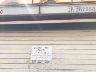"""Allerta caldo, a Velletri l'edicola chiude """"per troppa callaccia"""": """"Ci vediamo dopo Ferragosto!"""""""