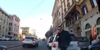 Quando Fabrizio 'Diabolik' Piscitelli aggredì un automobilista che gli rimproverava un parcheggio