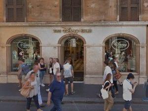 Il Disney Store di Via del Corso, nel cuore di Roma. [Foto da Google Maps]