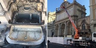 Fontane di Roma, non solo bagni: tutti gli interventi di restauro, ora tocca a quella del Mosè