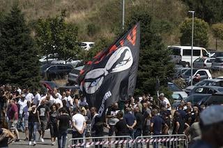 Funerali Fabrizio Piscitelli: centinaia di Irriducibili e ultras per l'ultimo saluto a Diabolik