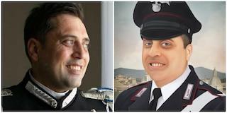 Jonny, artista e poliziotto americano, ha omaggiato con un ritratto Mario Cerciello Rega
