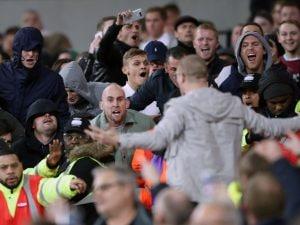Un gruppo di supporters del West Ham