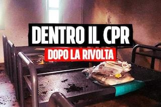 """Dentro il CPR di Ponte Galeria dopo la rivolta dei migranti: """"Costretti a dormire all'aperto"""""""