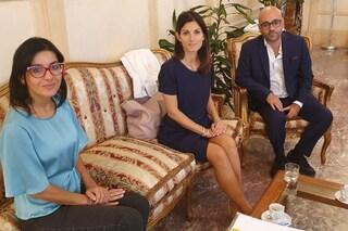 """Roma, Raggi incontra neo ministra della Pubblica Amministrazione: """"Sintonia assoluta su priorità"""""""