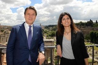 """Governo Conte bis, Virginia Raggi: """"Piena fiducia, saprà lavorare nell'interesse di Roma"""""""