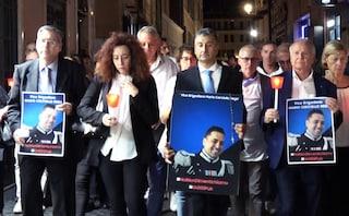 """Carabiniere ucciso, le parole commosse della vedova di Cerciello: """"Ricordate Mario come un eroe"""""""