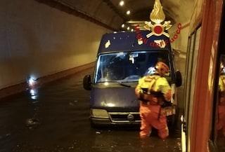 Roma, allagata Tangenziale Est: chiuso tratto tra viale Castrense e svincolo dell'A24