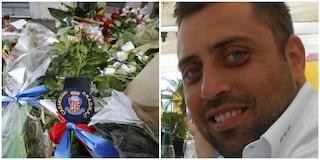 Carabiniere ucciso, bruciati fiori e foto di Mario Cerciello Rega posti dove fu accoltellato