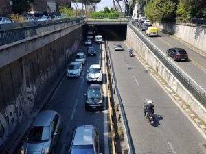 Riaperto il sottovia Ignazio Guidi – Foto Luceverde Roma