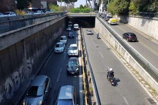 Traffico Roma, finito l'incubo sul Muro Torto: riapre il sottovia Ignazio Guidi