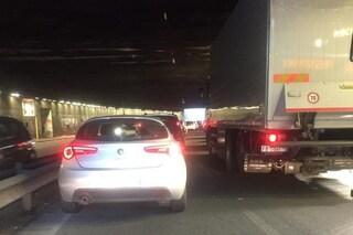 Traffico a Roma, tutto bloccato sul Muro Torto: sottovia Ignazio Guidi ancora chiuso