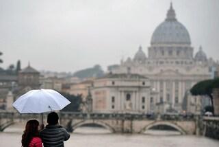 Meteo Roma 14 febbraio: a San Valentino la capitale si sveglia sotto la pioggia