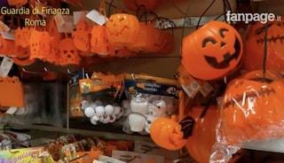 Roma, maschere e costumi di Halloween pericolosi: sequestrati oltre 11 milioni di articoli