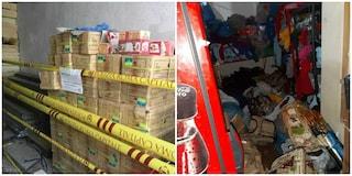 Piazza Navona, blitz polizia locale in un magazzino: sequestrati 7mila prodotti illegali
