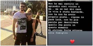 """Omicidio Luca Sacchi, Manuel Bortuzzo: """"Con me la vita è stata bastarda, con te non ha avuto pietà"""""""