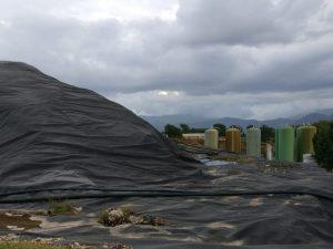 La discarica di Colleferro (Foto d'archivio)
