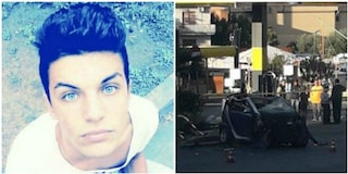 Roma, Federico Tomei morto in un incidente mentre tornava dalla discoteca: non aveva la cintura