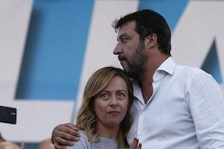 Matteo Salvini e Giorgia Meloni già si litigano il sindaco di Roma