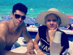 Luca Sacchi e la fidanzata Anastasyia