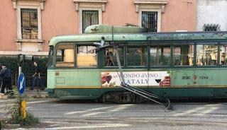 Roma, guasto a un tram: si rompe un pantografo, ferme le linee 2 e 19