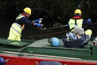 Roma, una barriera antiplastica per la raccolta di rifiuti galleggianti sul Tevere