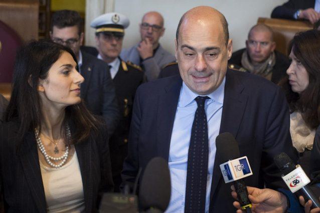 Zingaretti ovvio che mi auguro che raggi cada ma sindaco for Ovvio arredamento roma