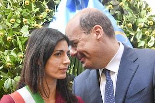 Nicola Zingaretti ordina a Virginia Raggi di individuare una discarica a Roma entro cinque giorni