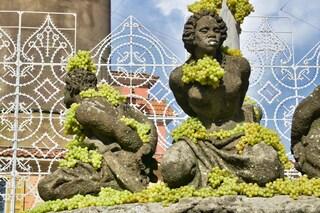 Sagra dell'Uva a Marino: dal 4 al 7 ottobre il miracolo delle fontane che danno vino